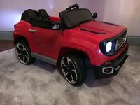 Red Kids Electric Ride On Car - 12v - 4x4 Style