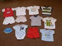 bundle of 3-6 months summer clothes
