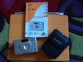 Canon ixus m-1 camera and case