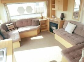 STATIC CARAVAN SALE 2 BED - SITE FEES INCLUDED FOR 2017 & 2018 - SUBLET, NOT KENT OR NORFOLK.