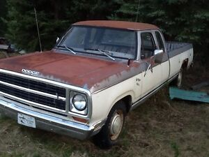 82 Dodge 360ci Ext Cab MUST READ! Trade 4 Bike!