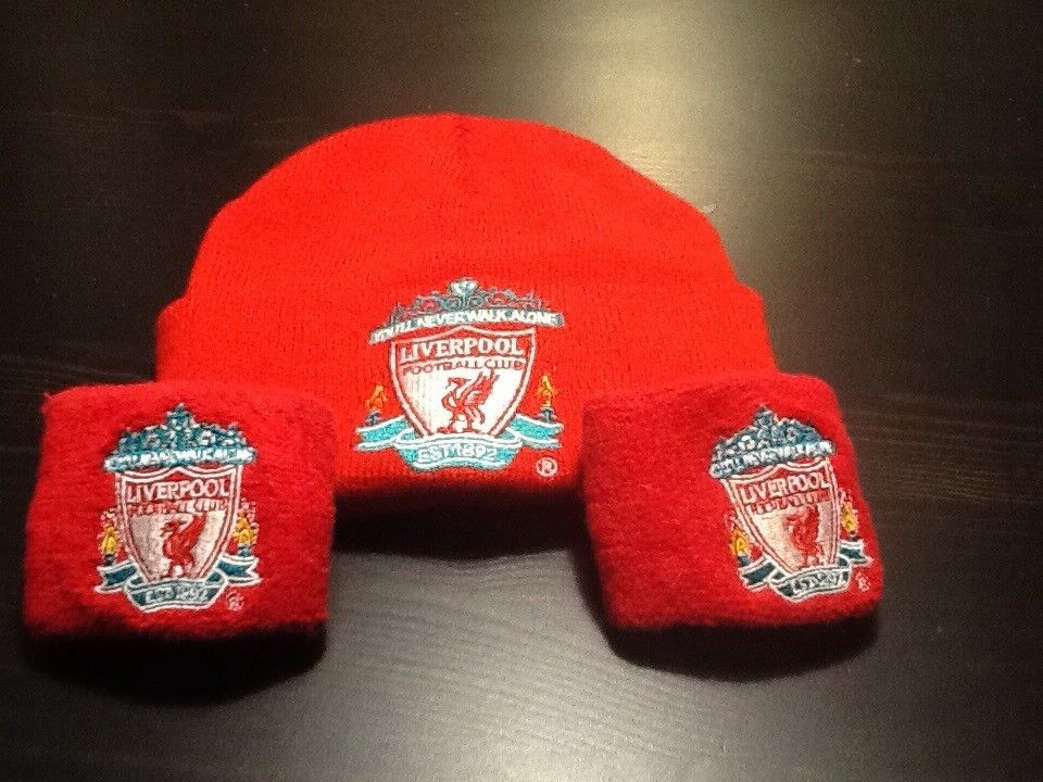 Liverpool Kids Hat and Sweat Bands