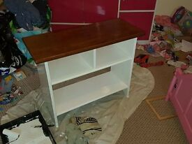 small tv unit/side table