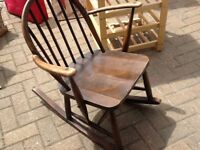Childs Ercol rocking chair