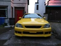 Lexus IS200 Sport Yellow Rose, limited edition 1 of 64, Excellent condition