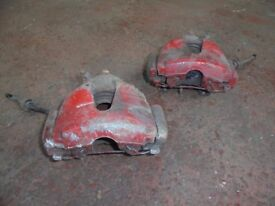 CORSA FRONT AND REAR CALIPERS