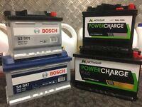 Car / Van Battery Batteries Brand NEW Bosch Motaquip Yuasa Supplied & Fitted