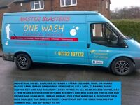 full jet washing / cleaning / valeting mobile business set up including van + all equiptment