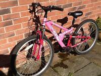Girls Apollo FS24 Mountain Bike