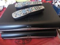 SKY+HD BOX + REMOTE CONTROL (THIS IS THE WIFI MODEL) SKY BOX SKYBOX. sky hd