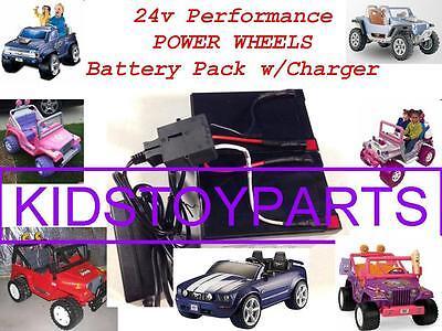 24 Volt Conversion Kit Power Wheels Ride on Jeep Trucks Car $20 CASH BACK Option