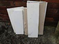 Plaster board pieces