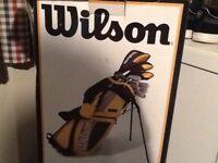 Wilson golf club bag