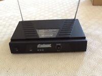 Prosound L60 AW VHF body pack tie clip wireless microphone system