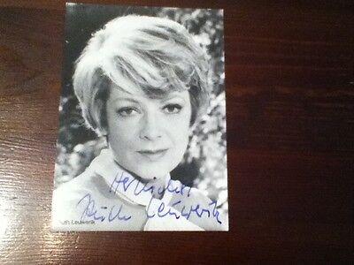 Autogramm Ruth Leuwerik