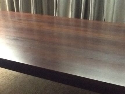 Handcrafted reclaimed timber dining table Ivanhoe Banyule Area Preview