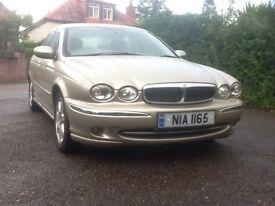 Jaguar X Type, excellent condition.