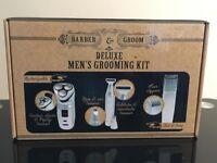 Deluxe mens grooming kit
