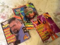 WWF Wrestling Magazines from the years 1988-1993