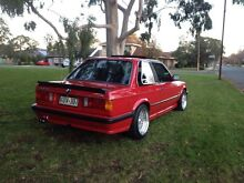 1987 BMW 3 Sedan e30 325e M TECH 1 RARE COUPE 5 SPEED Adelaide CBD Adelaide City Preview