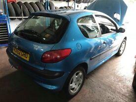 **Peugeot 206 - 1.4 HDI Diesel Alloy Wheel Nut - Full Car Breaking Parts**