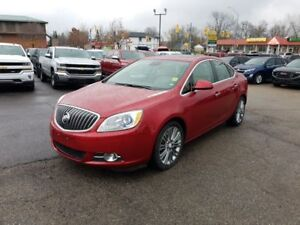 2013 Buick Verano Leather, Sunroof, Leather seats, Low KM