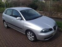 2003 53 Reg Seat Ibiza Hatchback 1.9 TDI Sport, Diesel, 5 Door, 6 Speed Manual, Metallic Silver