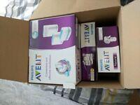 Philips Avent Complete Natural Starter Set with Steriliser-Breast Pump-Bottles