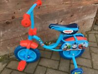 "Thomas the Tank Engine 10"" first bike £15 collection from Shepshed."