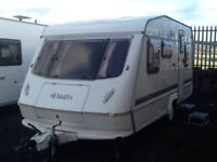 Elddis wisp 4 berth double DINNETTE with awning