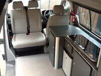 2013 Volkswagen transporter factory built hi top. Brand new unused conversion