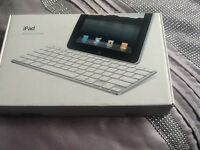 Apple iPad keyboard dock.