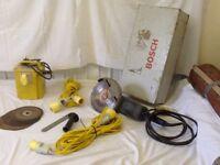 Bosch 9inch angle grinder model gws 23 in original box