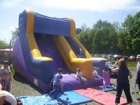 LARGE INFLATABLE SLIDE BOUNCY CASTLE AIRQUEE