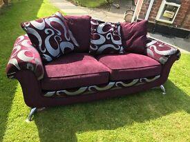 3 seater sofa ex diplay