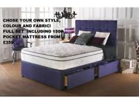 Brand new mattresses and beds!everything hand made, the best quality, lowest prices, free delivery