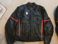 Real Leather Armoured Motorcycle jacket Xxl