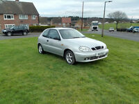 3 Door Reliable Car with Small Engine and **MOT Until DECEMBER** Daewoo Lanos 1.4 Petrol