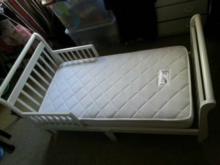 Toddler Bed Frame + Mattress(Jolly Breath Easy) Chatswood Willoughby Area Preview