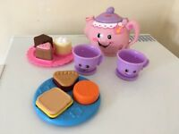 Fisher Price Laugh and learn tea set and picnic set £7 for all collection from Shepshed.