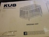 Dreemac Cot brand new still in box