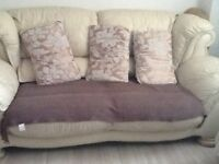 Three setter two seater one chair for sale