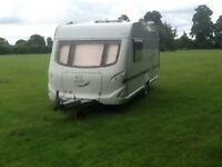 Geist touring caravan 4 berth 2006 fully serviced July 2017 Full Awning new gel battery