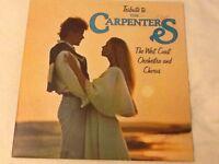 Carpenters vinyl LP . All in good condition
