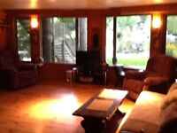 Executive waterfront basement furnished apartment