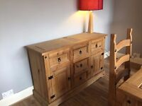 Sideboard ( Measures 132cms x44 cms )