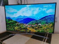 "40"" Samsung 4k uhd hdr smart led TV ue40mu6400"