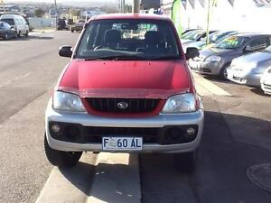 2003 Daihatsu Terios Wagon Invermay Launceston Area Preview