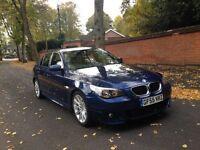 2005 55 BMW 520D M SPORT SALOON BLUE