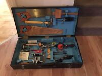 Vintage Carpenter Tools and box complete with Original Tools
